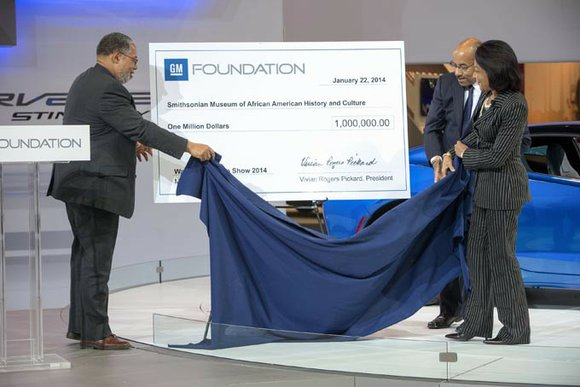 <div><p><b>DETROIT</b> – The General Motors Foundation will become a founding donor of the Smithsonian's National Museum of African American History ...
