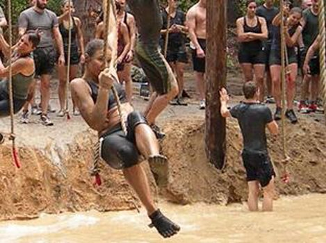 The Mother of All Runs, an obstacle race series in the mud with courses designed to give everyone a challenge, ...