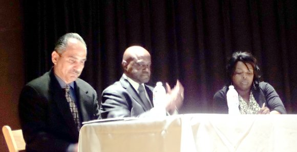 The third round of Monday Night Politics-Meet the Candidates was held April 15 at the African American Museum. The focus ...