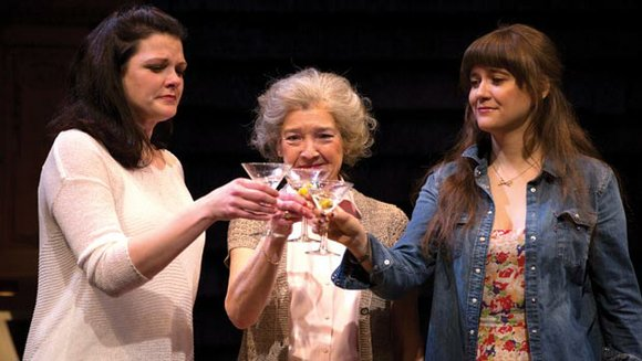 "The Huntington Theatre Company production of Gina Gionfriddo's smart and poignant comedy, ""Rapture, Blister, Burn,"" on stage at the Boston ..."
