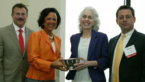 BOSTON — Dr. Barbara Ferrer, Executive Director of the Boston Public Health Commission (BPHC), was recognized last week by the ...