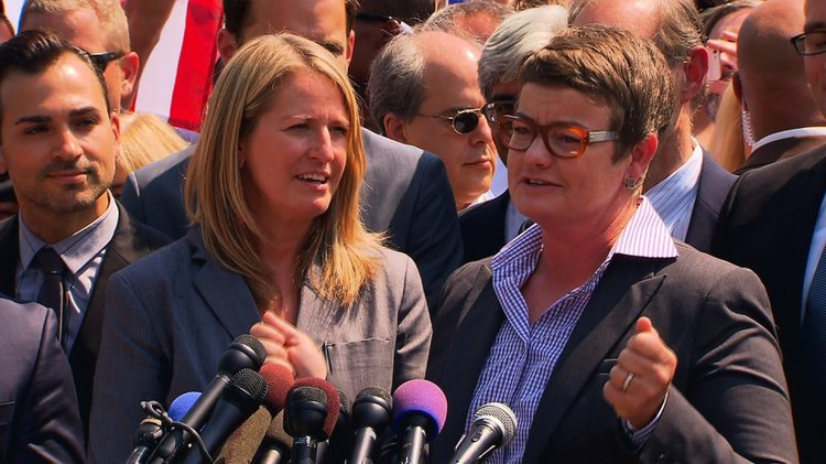 to defend California s voter- approved ballot measure barring gay