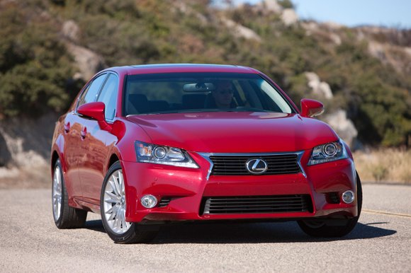 There was more to the 2013 Lexus GS 350 AWD than just the spindle grille that is the new face ...
