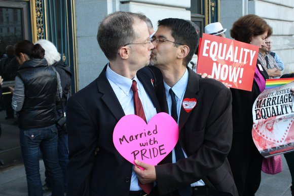 The U.S. Supreme Court on Sunday refused to stop California from issuing same-sex marriage licenses, turning aside an emergency request ...