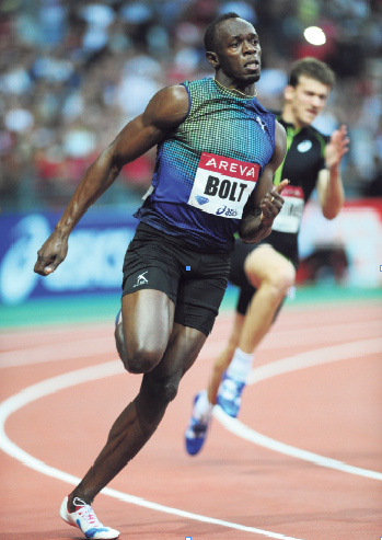 He recently ran a 19.73 200-meter at the Areva Diamond League Meet in Paris as a crowd of over 52,000 ...