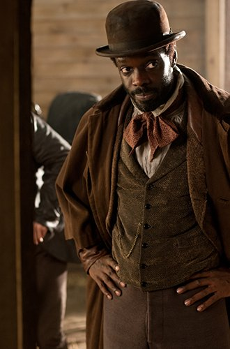 After hypnotizing audiences as D'Artagnan, the slave who was mauled to death by dogs in Django Unchained, Ato Essandoh now ...