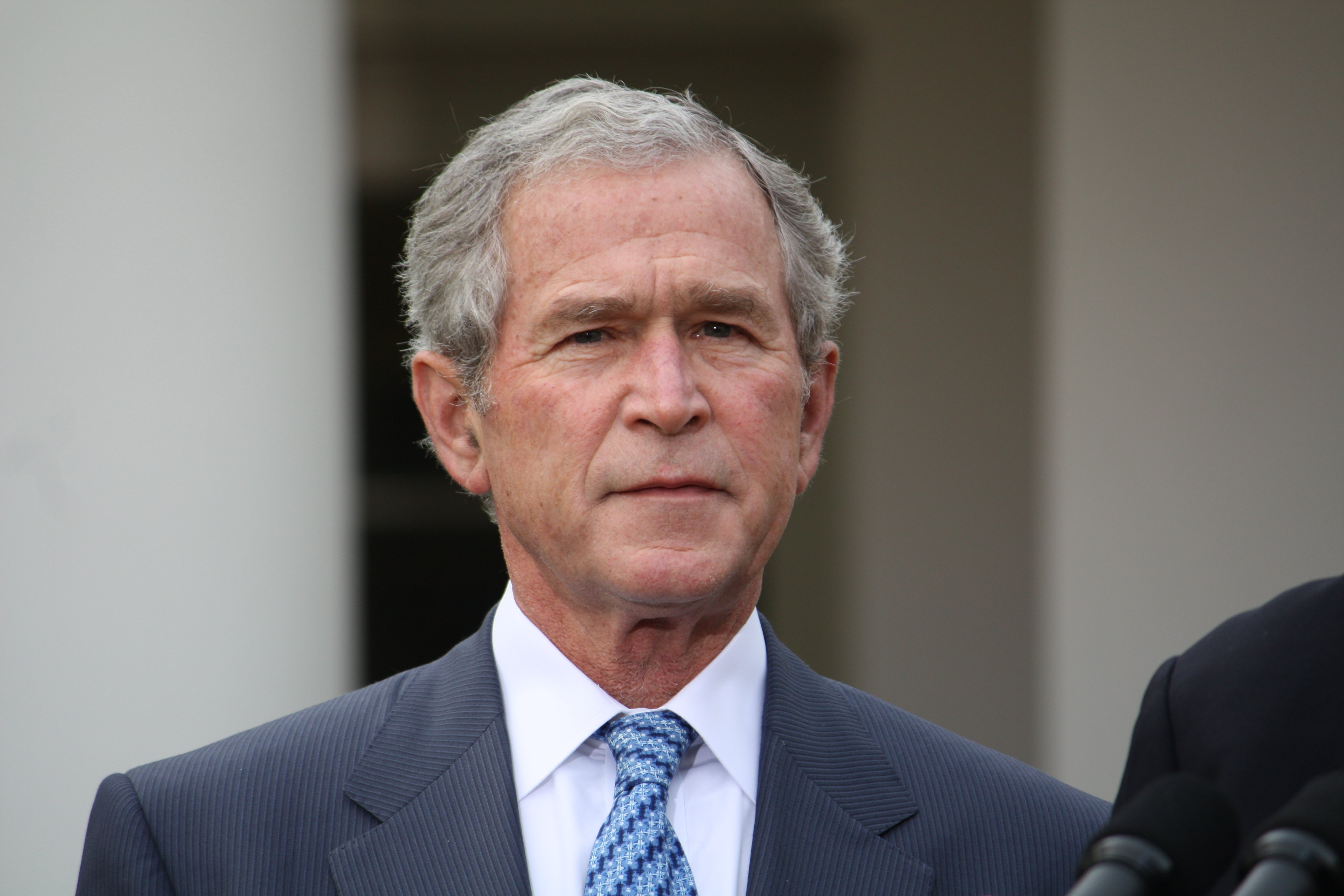 43rd u s president george w bush Born on 6 july 1946 in new haven, connecticut, george walker bush, known as george w bush or george bush junior was the 43 rd president of the united states of america, serving from 2001 – 2008 he was preceded by bill clinton, and he was followed by barack obama.