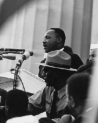 Here is an excerpt of Dr. King's historic speech delivered on the steps of the Lincoln Memorial on Aug. 28, ...