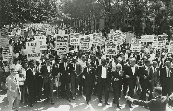 William P. Jones: The March on Washington: Jobs, Freedom, and the Forgotten History of Civil Rights, offers a historical look ...