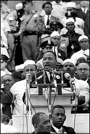 In 1967, exactly a year before he was assassinated, Dr. Martin Luther King Jr. addressed a meeting of Clergy and ...