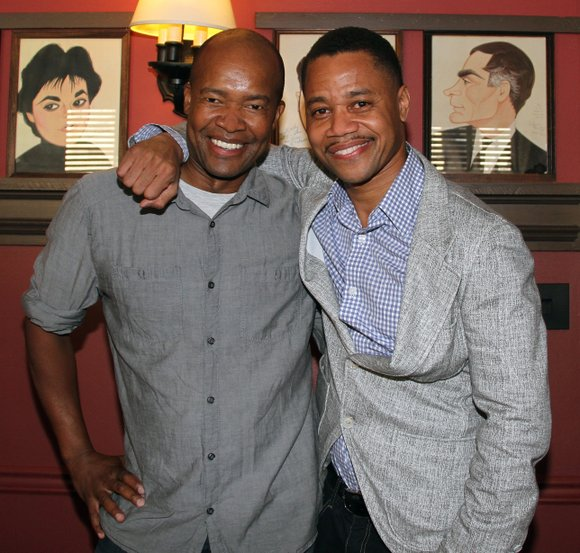 "Cuba Gooding Jr. played his final performance in ""The Trip to Bountiful"" on Tuesday, Aug. 27."