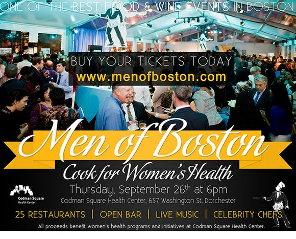 Men of Boston Cook for Women's Health serves to join some of the Boston area's finest restaurants with local celebrities ...