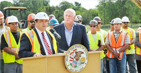 In a conjoined effort, the Illinois Department of Transportation (IDOT) and the Illinois Tollway has begun construction on creating connections ...