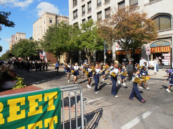 Hundreds of families lined the streets of downtown Joliet Sunday for the 25th annual African American Heritage Parade.