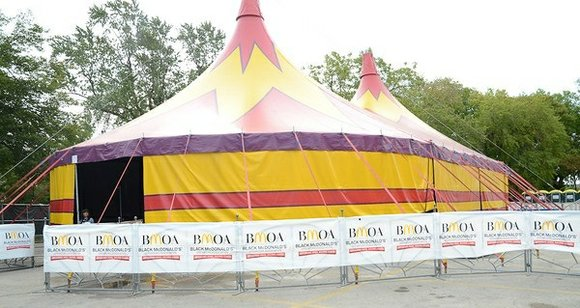 Presented by the Black McDonald's Operators Association of Chicagoland and the Northwest Indiana (BMOA), the UniverSoul Circus is in Washington ...