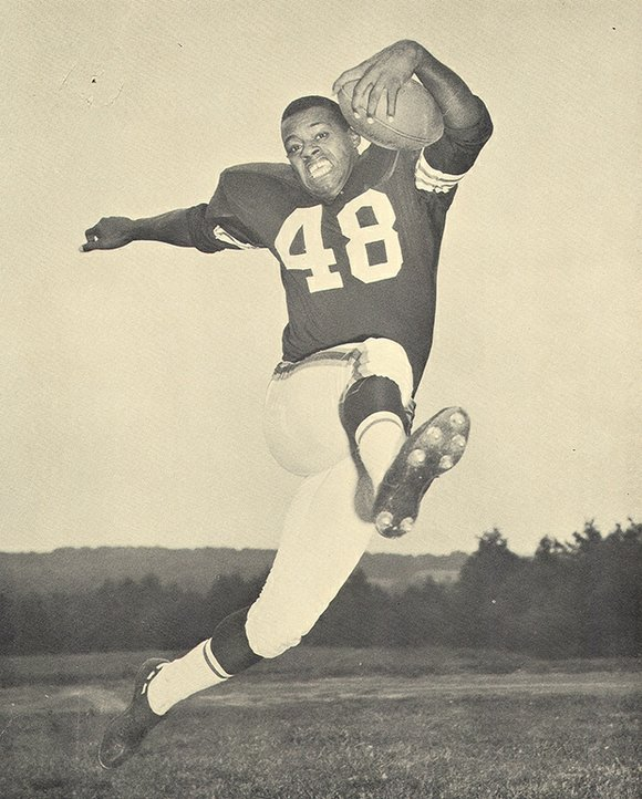 Ernie Green, 75, was a force to be reckoned with on the football field. He played seven seasons for the ...