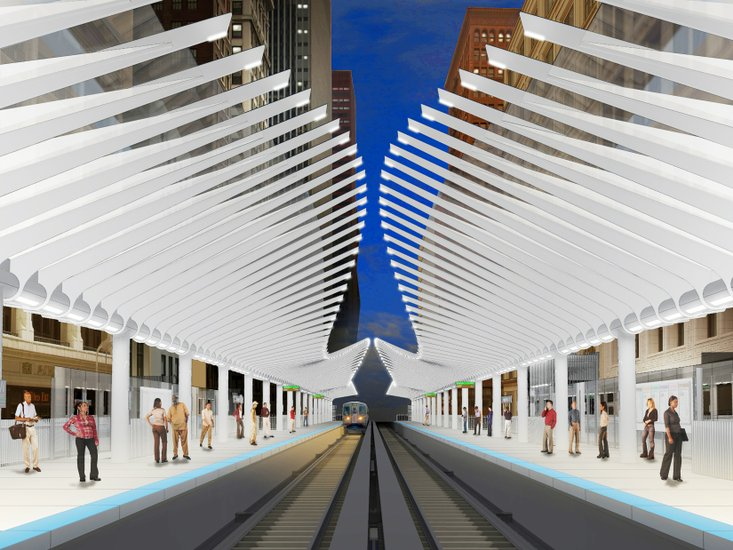 Renovations planned for ctas washington wabash elevated station chicago transit authoritys cta elevated structure at wabash washington will soon be transformed sciox Gallery