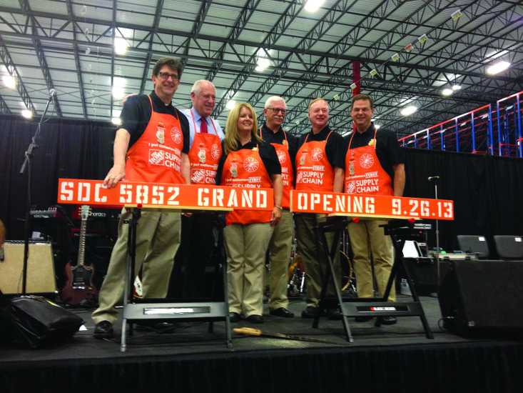 Governor attends Home Depot Distribution Center opening | The Times