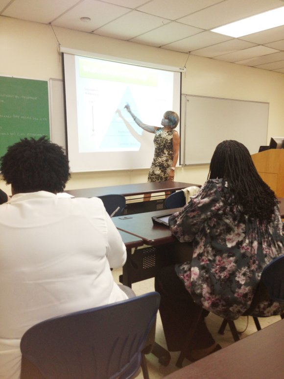 The Illinois Small Business Development Center located on Chicago State University's campus, 9501 S. King Dr., hosted a free monthly ...