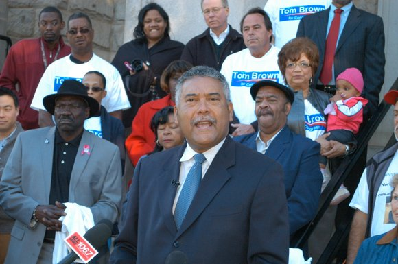 DeKalb County Sheriff Thomas Brown wants to go Washington, and he announced this week that he will challenge 4th District ...