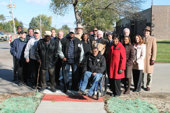 Will County Board members toured the unincorporated Fairmont neighborhood, located between the City of Lockport and the City of Joliet, ...
