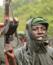 The Congolese military reclaimed their territory that was taken a year ago by the M23 rebel army.