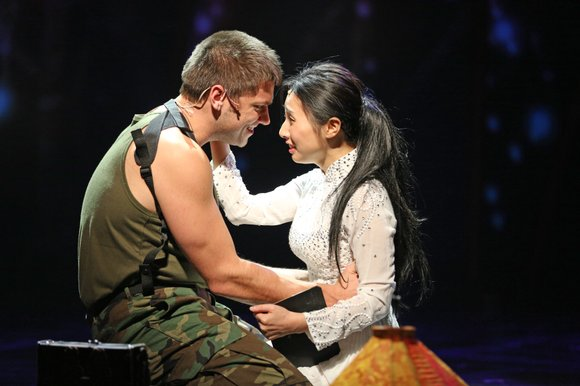 Paramount Aurora's re-imagined production of Miss Saigon gives a fresh new and dynamic face to the award-winning show of the ...