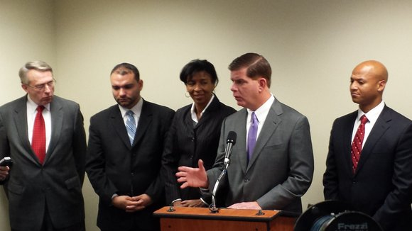 Mayor-elect Marty Walsh is moving forward with his promise to assemble an administration that is 50 percent people of color, ...