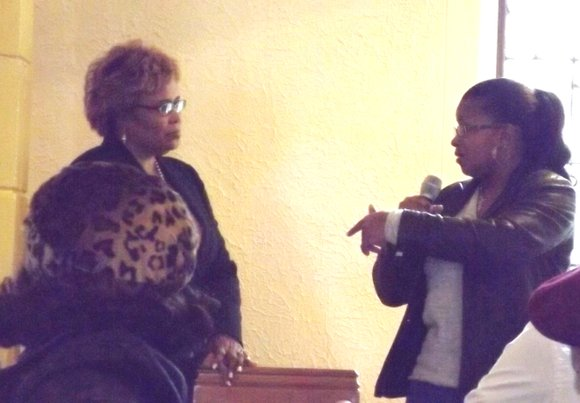 Area residents packed the Crerar Memorial Presbyterian Church (8100 S. Calumet Ave.) on Chicago's South Side on Saturday to hear ...