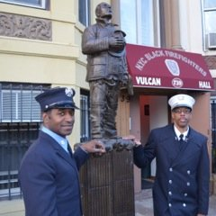 The Vulcan Society, the fraternal order of Black firefighters, held its annual memorial service at St. Philip's Episcopal Church in ...