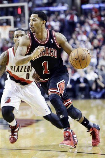 Chicago Bulls star Derrick Rose out for season | Chicago Citizens Newspaper | Premier African ...