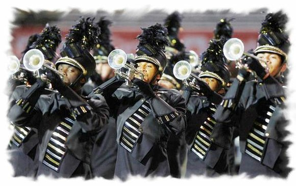 Marian Catholic High School (MCHS) Marching Band, 700 Ashland Ave., Chicago Heights, Ill., proudly strutted their stuff in the Macy's ...