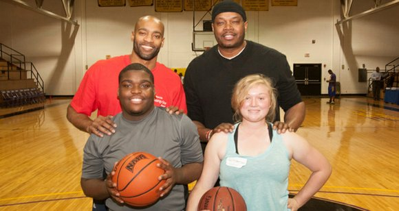Last month, outstanding Dallas area students Dominic Bowie and Charity Garrison thought they were participating in a basketball exercise clinic ...