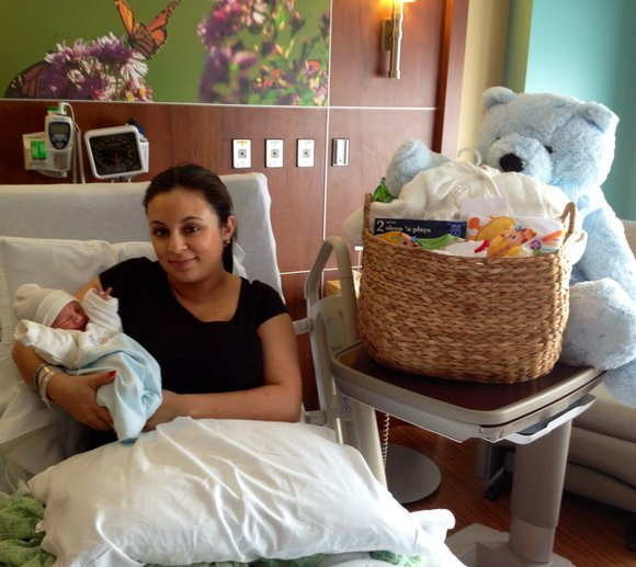 It was an extra special day for Daniela Castillo. Not only was it her birthday, but she gave birth to ...