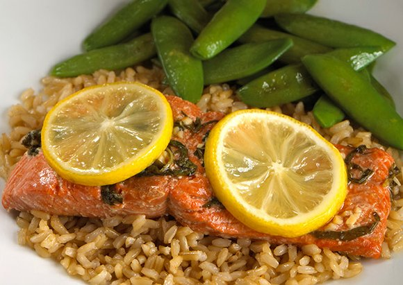 Salmon, especially sockeye salmon, as well as other fatty fish, such as mackerel and sardines, is a good source of ...