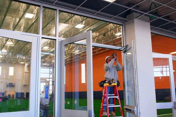 The redevelopment of Romeoville's downtown is starting to take shape as the new Athletic and Events Center nears completion, according ...