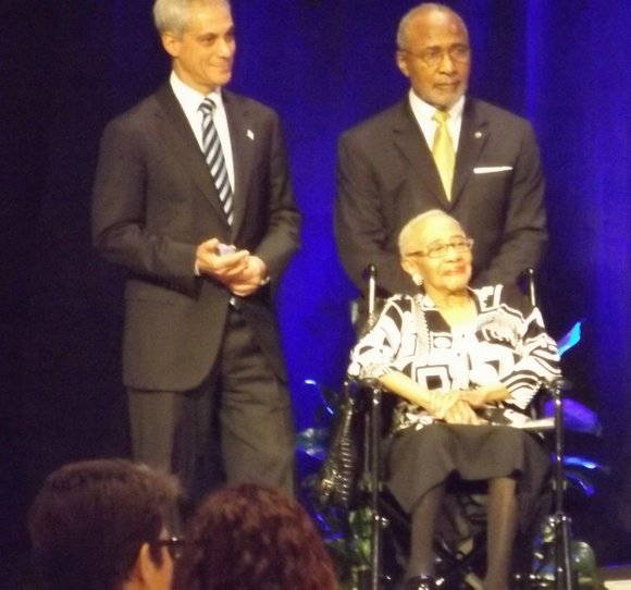 Mayor Rahm Emanuel, Chicago's local church community and various elected officials paid homage to Rev., Dr. Martin Luther King, Jr. ...