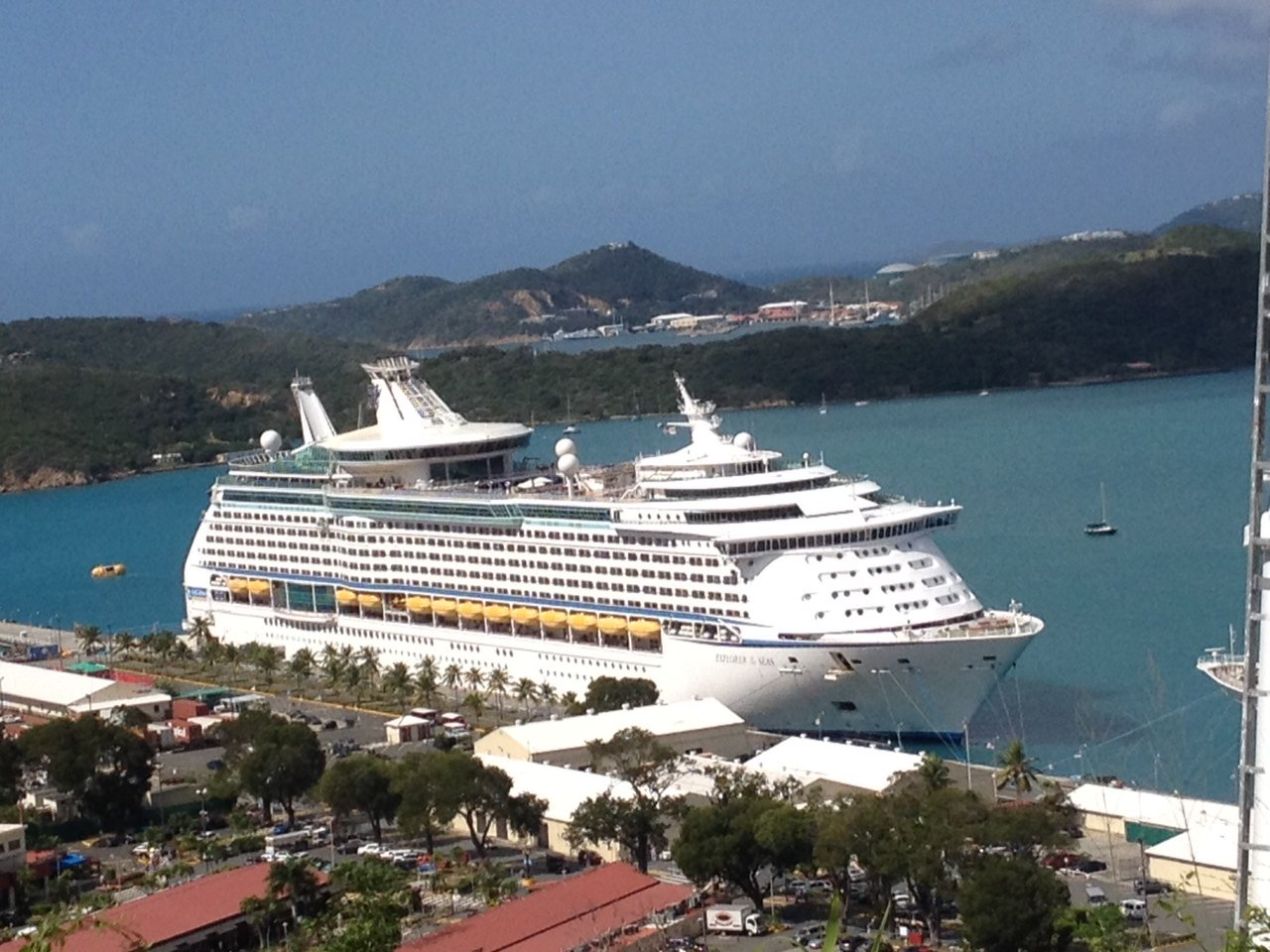 Royal Caribbean cruise ship returns home -- with a ...