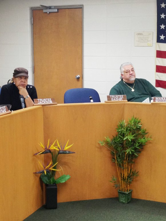 Village of Hazel Crest officials talked with local residents and business owners last Thursday during a public meeting to discuss ...