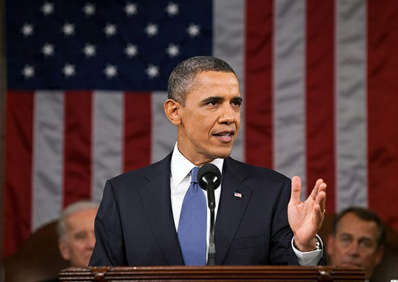 "President Obama called on the country's leaders to make 2014 ""a year of action"" to address the growing wage gap ..."