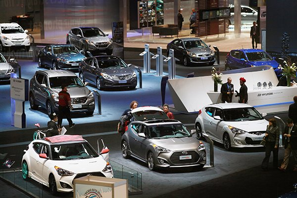 Toyota To Heat Up Frigid Chicago Auto Show The Times Weekly - Winters car show