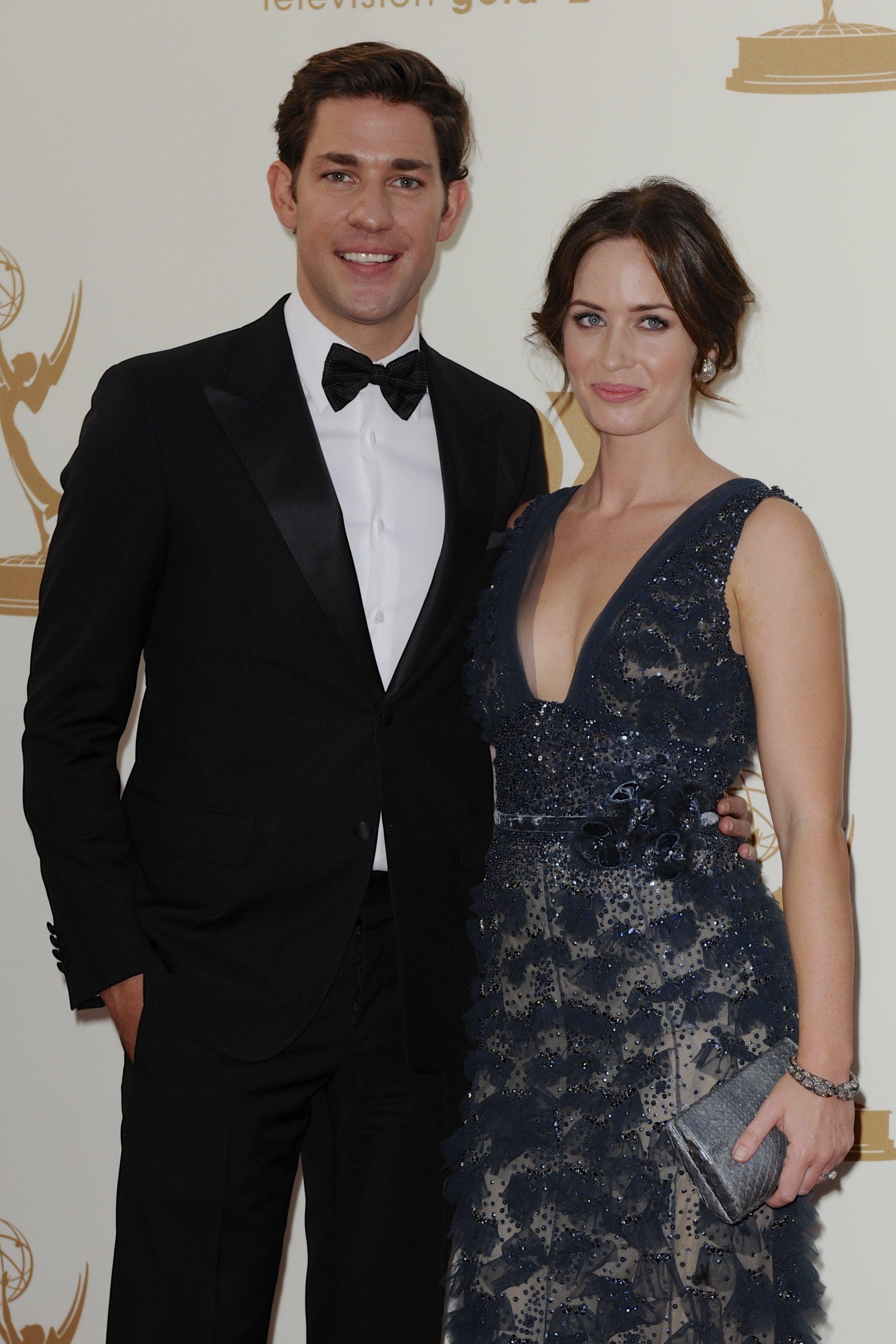Emily Blunt, John Krasinski welcome baby girl   Houston ...
