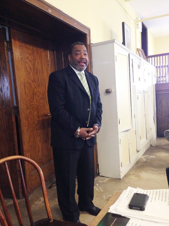 At the monthly 6th Ward Seniors' meeting at St. Mark AME Zion Church, 7358 S. Cottage Grove Ave. last week, ...