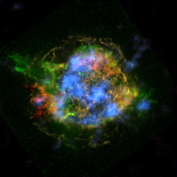 Cassiopeia A was a star more than eight times the mass of our sun before it exploded in the cataclysmic, ...