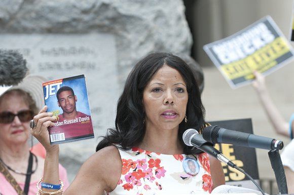 A former Joliet resident is asking everyone to focus on the life her son lived following a controversial jury verdict ...