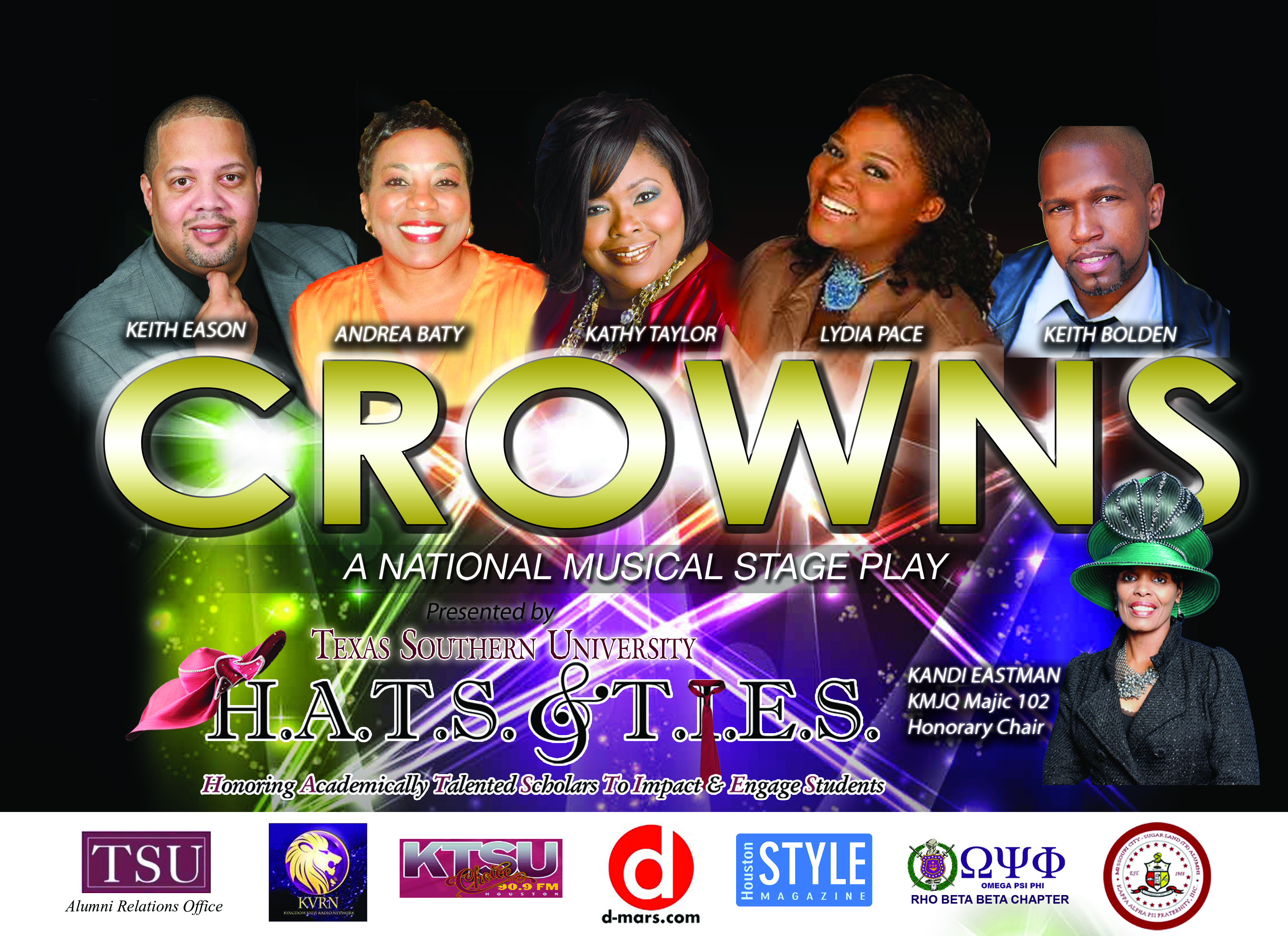 Crowns The Play Behind The Scenes Houston Style Magazine Urban Weekly Newspaper Publication