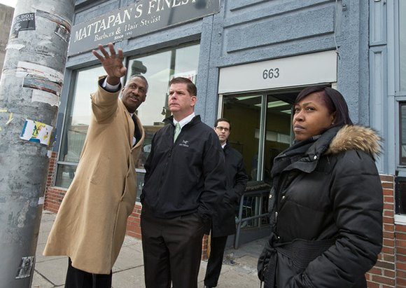 When Ed Gaskin talks about Boston's Grove Hall, he sees the community's assets first and foremost — its proximity to ...