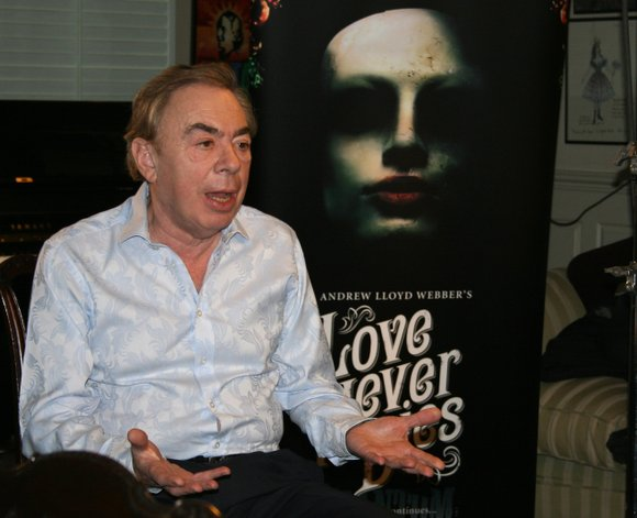 He's created some of the world's highest-earning stage shows, so it's only fitting that Andrew Lloyd Webber will be in ...