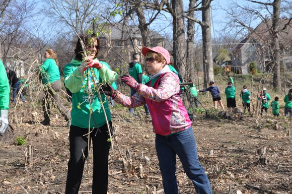 Workday drew a record turnout of 500 participants this past Saturday, April 26. Volunteers were divided into teams to tackle ...
