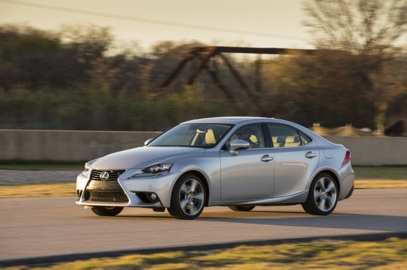 The 2014 Lexus IS 350 may be the best sedan in the Japanese brand's lineup. We had the all-wheel-drive F ...